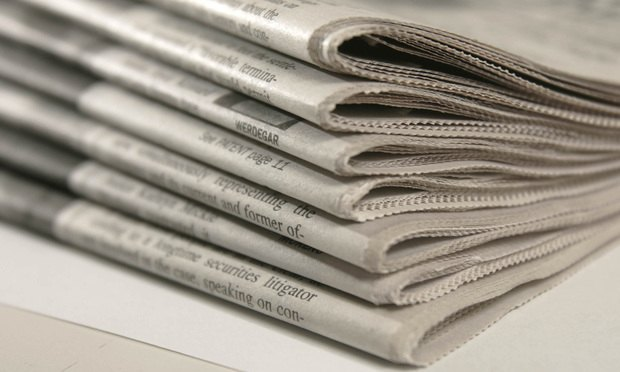 Appeals Court Raps Judge Who Tossed Suit on Basis of Newspaper Article