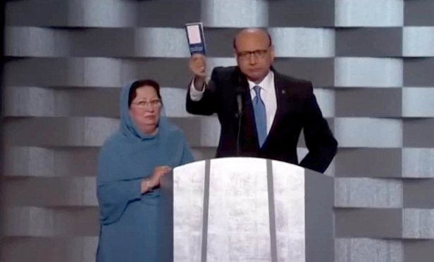 DNC Speaker Khizr Khan a Man of Character, Say Former Big-Law Colleagues