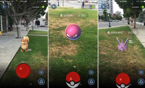 Take Your GPS Coordinates and Go, Pokémon!