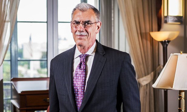 U.S. Solicitor General Donald Verrilli Jr. in his office at the U.S. Department of Justice