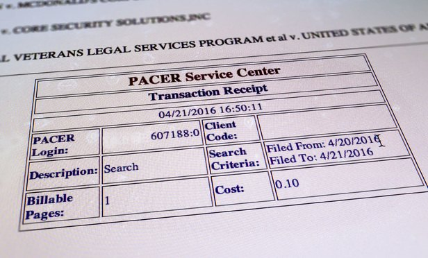 Judge Clears Path for PACER Overcharge Suit