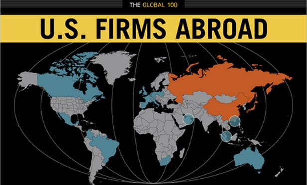 U.S Firms Abroad, an Interactive Road Map