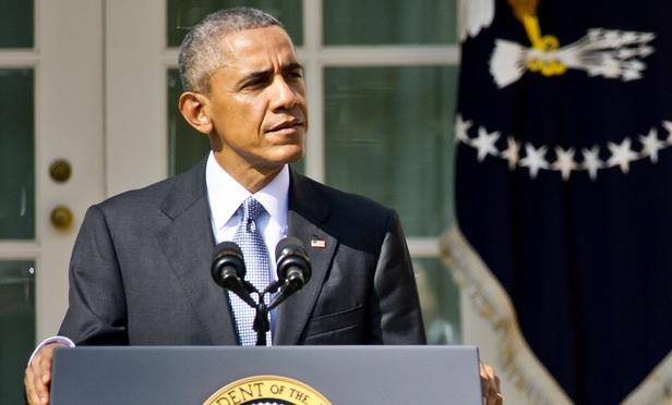 President Barack Obama (Photo: Diego M. Radzinschi/ALM)