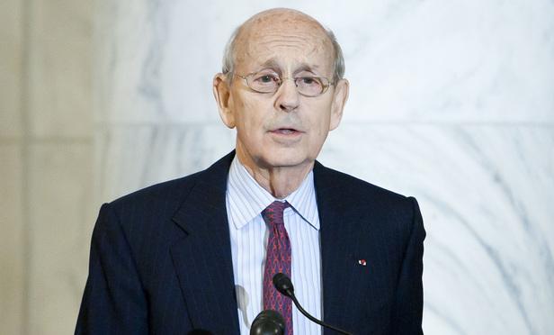 U.S. Supreme Court Justice Stephen Breyer. (Photo: Diego M. Radzinschi)