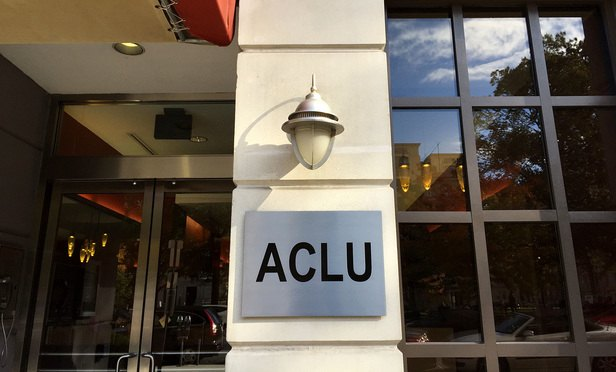 ACLU office in Washington, D.C. at the Peter B. Lewis Center for Civil Liberties. November 11, 2014. Photo by Diego M. Radzinschi/THE NATIONAL LAW JOURNAL.