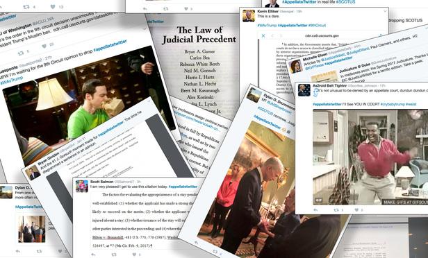 Trump's Court Challenges Popularize #AppellateTwitter