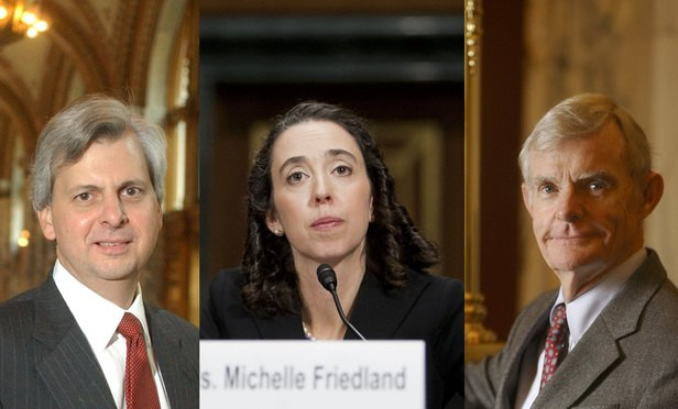 Richard Clifton, Michelle Friedland, and William Canby.