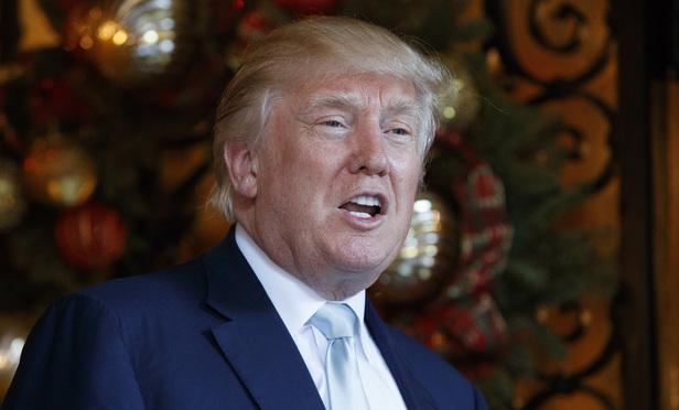 President-elect Donald Trump. (Photo: Evan Vucci/AP)