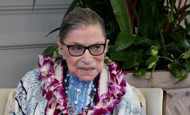 Ginsburg Praises Women's March, Says She is Feeling 'Very Well'