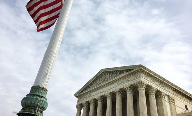 U.S. Supreme Court building. (Photo: Diego M. Radzinschi/ALM)