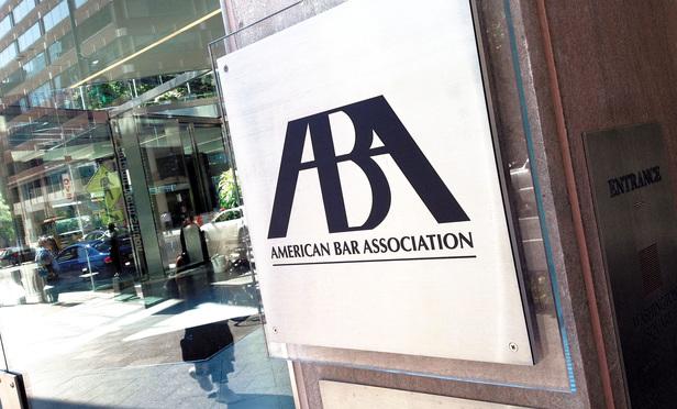 American Bar Association offices in Washington, D.C.  June 23, 2014.  (Photo: Diego M. Radzinschi/ALM)