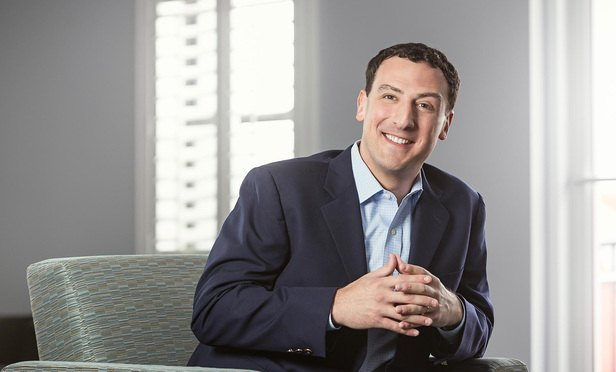 Isaac Lidsky, corporate speaker, author, entrepreneur and the only blind person to serve as a law clerk for the U.S. Supreme Court (Scott Watt)