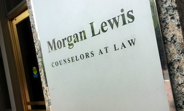 A Quick Turnaround for a Morgan Lewis Lateral