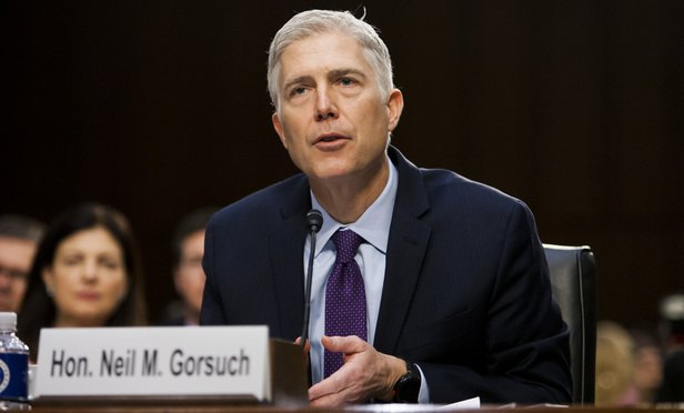 'Not My Finest Moment,' Gorsuch Says About Gitmo Letter