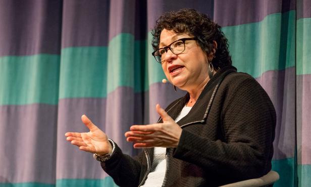 A conversation with Sonia Sotomayor at University of California Berkeley (Jason Doiy / ALM)