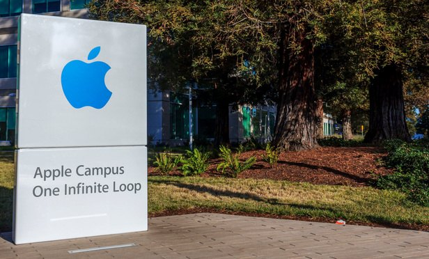 Apple Headquarters at 1 Infinite Loop in Cupertino, California. (Photo: achinthamb/Shutterstock.com)