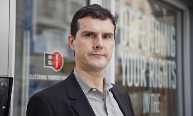 Daniel Nazer of the Electronic Frontier Foundation. (Photo: Jason Doiy/ALM)