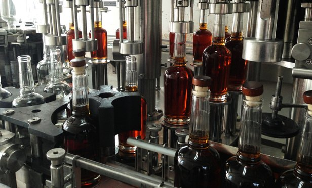 First day of bottling aged bourbon at Ragged Branch Distillery, located in Albemarle County, Virginia, on a 92-acre farm. (Courtesy photo)