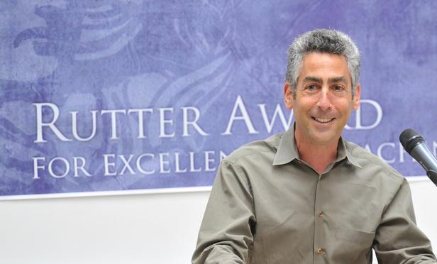 Professor Stuart Banner of UCLA School of Law.