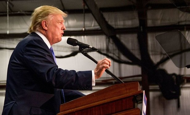 Trump Turmoil Tempers Law Firm Business Forecasts