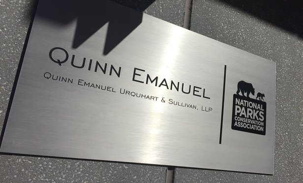 Ex-Secretary Accuses Quinn Emanuel of Racial Discrimination