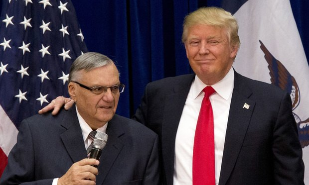 Arpaio and Trump