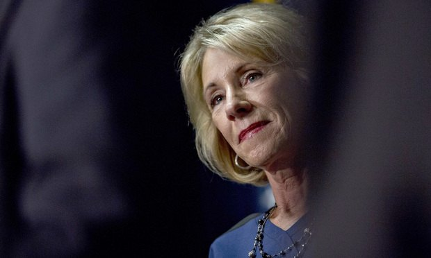 Attorney Resigns After Wishing on Twitter that DeVos Would Get Sexually Assaulted