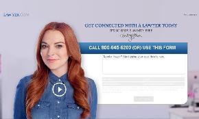 Legal Tech Gets Its First Celebrity Spokesperson: Lindsay Lohan