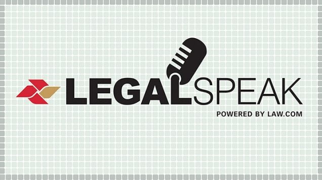Legal Speak podcast logo
