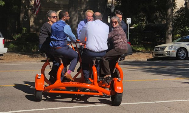 Campbell Law School >> This Law School Is Hitting The Road On A Seven Person Bike