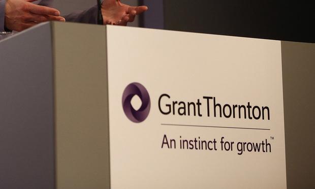 Grant Thornton/photo by Simon Dawson/Bloomberg
