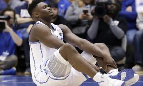 Duke Star Zion Williamson May Have Slam Dunk Case Against Nike but Some Lawyers Doubt He'll Just Do It