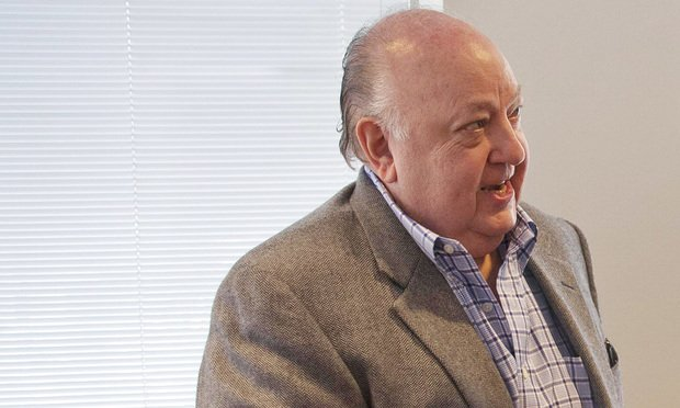 Roger Ailes, the late president of Fox News and chairman of the Fox Television Stations Group, at the Fox News headquarters in Times Square, New York. Photo by Sgt. Christopher Tobey via Wikimedia Commons