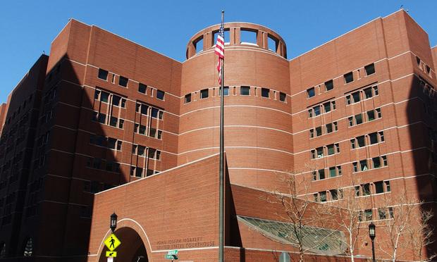 John Joseph Moakley U.S. Courthouse in Boston. April 3, 2019. - Photo: Jack Newsham/ALM