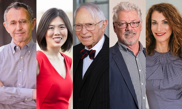 David Aronstam, Jeena Cho, Jerry Braun, William Putman and Lisa Smith.
