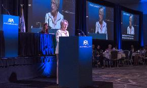 ABA President: 'When One Lawyer Talks It Can Make a Difference'