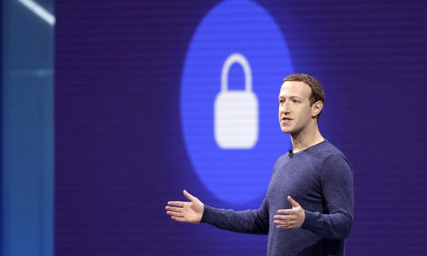 Facebook Chairman and CEO Mark Zuckerberg speaks at a Facebook developer conference in San Jose, California, on May 1, 2018. Photo: Marcio Jose Sanchez/AP