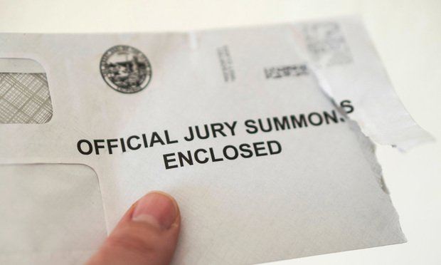 Jury Summons envelope ripped open