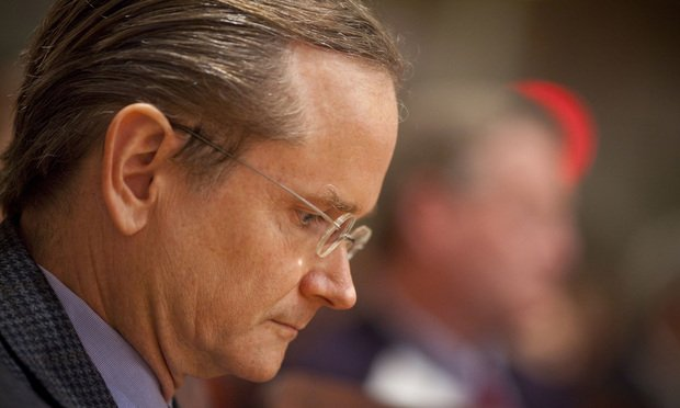 Harvard law professor Lawrence Lessig. Photo: Justin Ide/Harvard University News Office