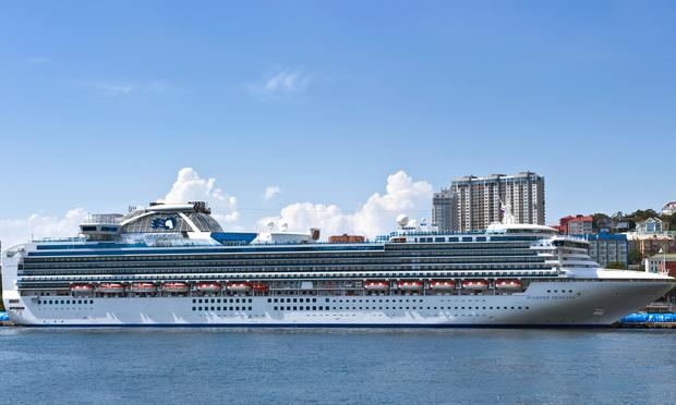 Cruiseship Diamond Princess