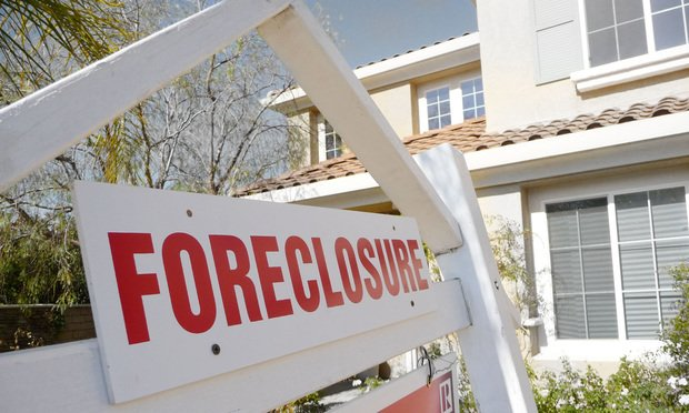 Foreclosure House Sign
