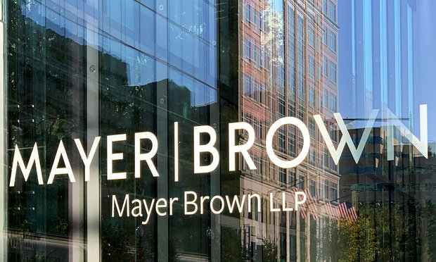Mayer Brown office sign