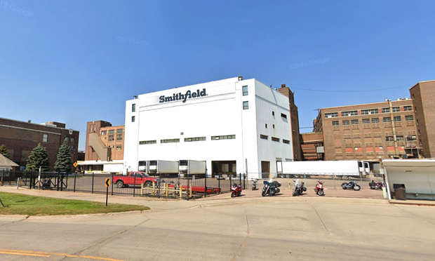 A Smithfield plant in South Dakota was closed due to the spread of COVID-19 in its workforce.