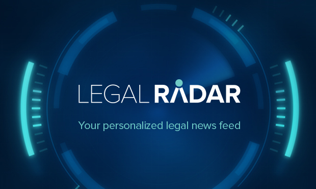 Legal Radar - Your personalized legal news feed