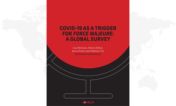 Book cover for COVID-19 as a trigger for force majeure