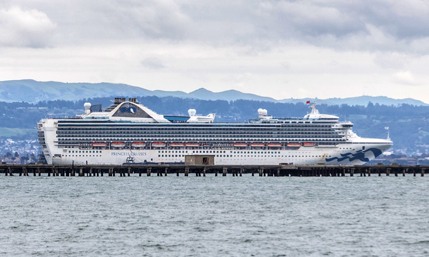 The Princess Cruises Grand Princess