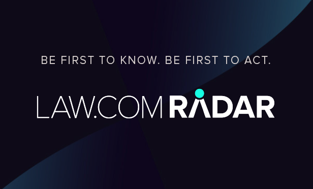 First to Know. First to Act. Introducing Law.com Radar
