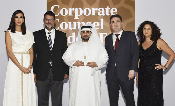Corporate Counsel Middle East Awards Corporate Team of the Year: