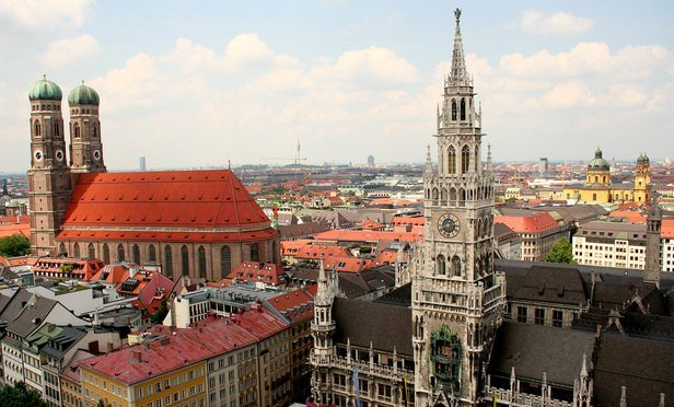 Munich skyline