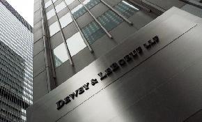 Former Dewey chairman Davis agrees six figure SEC settlement over firm's 2012 collapse